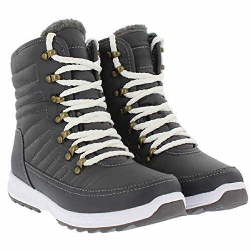 Charcoal Boot Sneaker Ankle Weatherproof Women's FRSwxqgSB