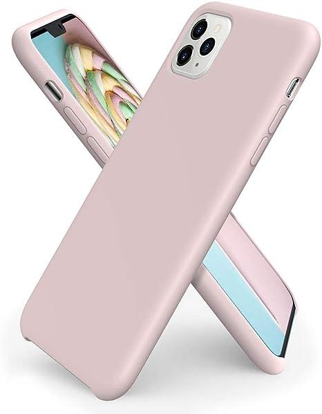 APPLE Custodia in silicone per iPhone 11 Pro Max - Rosa sabbia