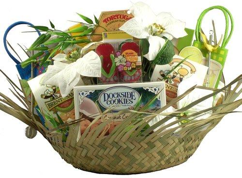 Gift Basket Village 5 O'clock Somewhere Tropical Holiday Gift Basket, Large
