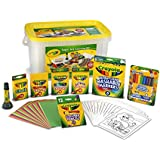 Crayola Super Art Coloring Kit, Gift for Kids, Amazon Exclusive, Over 100Piece