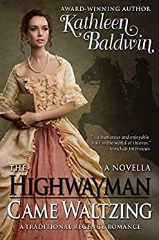 Highwayman Came Waltzing Traditional Regency ebook product image