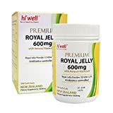 Hi Well Premium New Zealand Bee Royal Jelly 600mg with Natural Vitamin E 300 Soft Gels Immune Support Vitamins & Minerals
