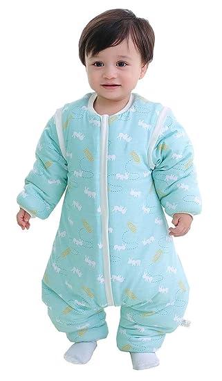 def42ef8932792 Chilsuessy Baby Schlafsäcke abnehmbar Ärmel Winter kinder Schlafsack ...