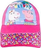 Peppa Pig Cap Girls Baseball Cap Summer Safari Hat Ages 1 to 6 Years (1-3 Years, Pink)