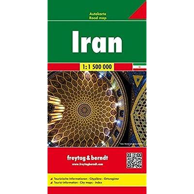 Irán (Auto karte)