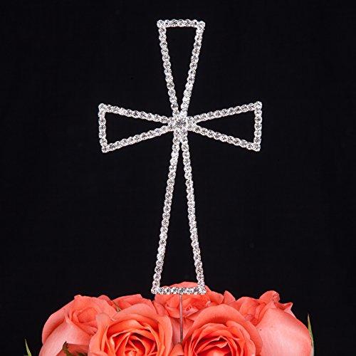 LOVENJOY Gift Box Pack Cross Rhinestone Crystal Cake Deco...