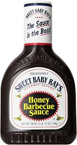 SWEET BABY RAY'S HoneyBarbecue Sauce Bottle28 oz