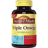 Nature Made Triple Omega 3-6-9, 150 Softgels