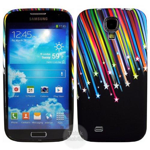 Samsung Galaxy S4 i9500 Caso Elegante - Transparente S-Line TPU Gel Funda Case Para Samsung Galaxy S4 i9500 - thinkmobile multicolor