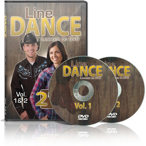 Line Dance Lessons on DVD Vol 1 & 2 - Learn 20 Line Dances, Plus two 30 Minute Bonus Workouts! Instruction & Exercise in a Two Disc - Kids Learn Dance