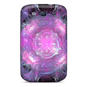 Excellent Galaxy S3 Case Tpu Cover Back Skin Protector Pinky Sunburst