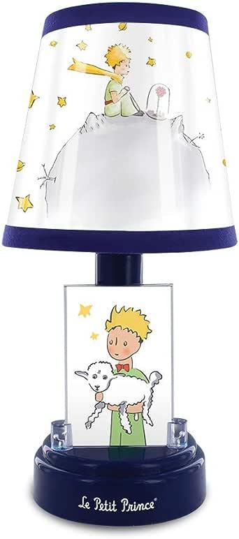 Metronic El Principito Lámpara de mesita de noche infantil, para niños, funcionamiento con pilas, luz LED suave, Azul: Amazon.es: Iluminación