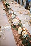 B-COOL Rose Gold Sparking Sequins Table Runner