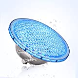 Toplanet Underwater Light 21W Waterproof IP68 LED Swimming Pool Light Colors Changing with Remote Control for Aquarium or Pond