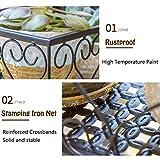 MORINN Iron Hanging Shelf Basket with