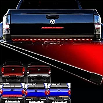 Opar waterproof 60 redwhite tailgate led strip light bar truck opar waterproof 60quot redwhite tailgate led strip light bar truck with reverse aloadofball Gallery