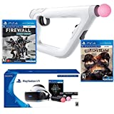 PlayStation Bravo Team Deluxe Bundle (4 Items): PlayStation VR – Skyrim Bundle, PSVR Bravo Team Game, PSVR Farpoint Game and PSVR Aim Controller