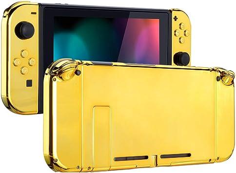 eXtremeRate Carcasa para Nintendo Switch,Funda Completa para Mando Controlador Consola Joy-con de Nintendo Switch Shell de Bricolaje reemplazable con Botón Completo (Oro Cromado): Amazon.es: Electrónica