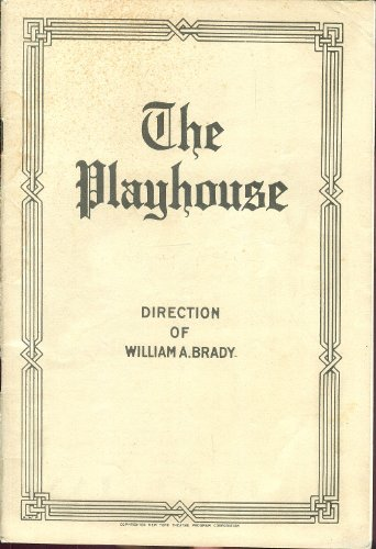 The Playhouse, Direction of William A. Brady: The New York Magazine Program, Street Scene: A Play in Three Acts by Elmer Rice (Mary Servoss, Erin O'Brien-Moore, Robert Kelly, Horace Braham) pdf epub download ebook