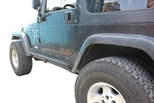 Yj Rock (Tuff Stuff 87-95 Jeep Yj Rock Slider Rocker Armor Protection)