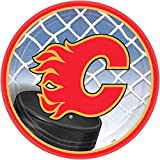 Calgary Flames Lunch Plates NH