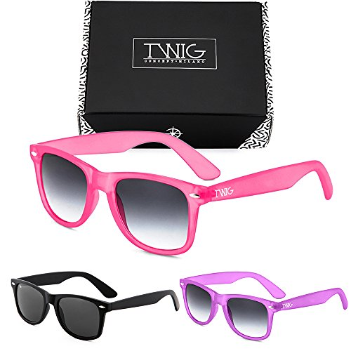 TWIG de WAY Pack degradadas Sunset Tres hombre sol mujer gafas FLUO St5xwn7Rq