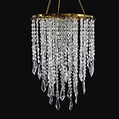 check out bd415 cf8c8 SUNLI HOUSE Modern Mini Chandelier Shade,Chandelier Light Fixture Sparkling  Decorations for Wedding Centerpiece,Special ...