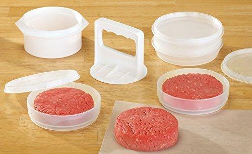 Image result for tupperware hamburger press