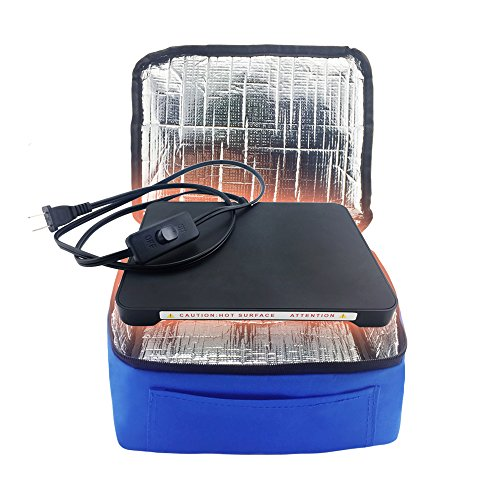 Blue Heating Oven (YIBOSS MINI Electric Heating Portable Oven Work With All Flat Bottom Containers)