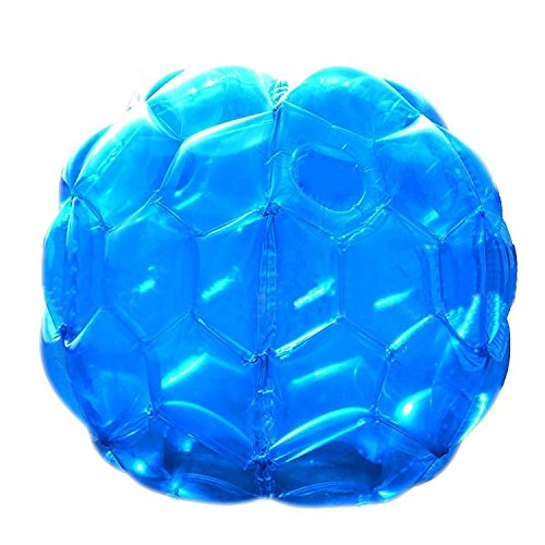 (LULUFUN Body Bumper Balls, Wearable Bumper Zorb Balls Blow Up Toy Inflatable Sumo Bumper Bubble Soccer Ball for Adults and Kids (Kids : 24 x)