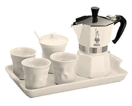 Bialetti - Set de cafetera Italiana de 3 Tazas (Incluye 3 Tazas de ...