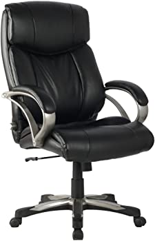 VIVA High Back Ergonomic Leather Chair with Lumbar Support
