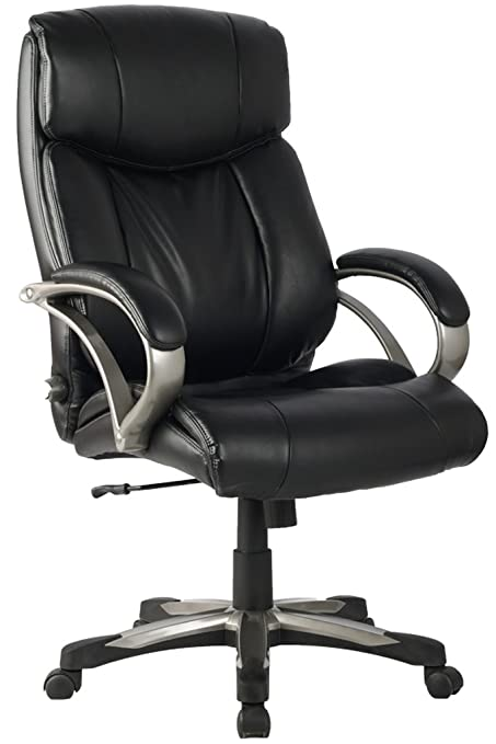 Beau Ergonomic Leather Chair High Back With Adjustable Lumbar Support