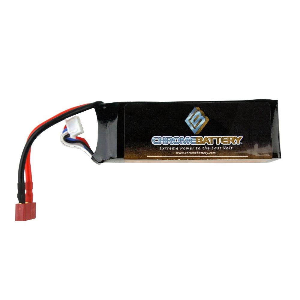 Chrome Battery 3S 11.1V 2700mAh LiPo Battery w/ EC3 Connector 31424 Blade 350QX