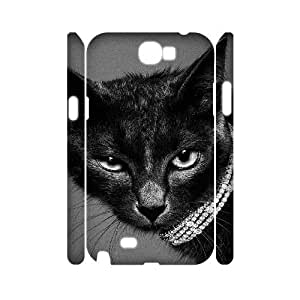 VNCASE Lovely Cat Phone Case For Samsung Galaxy Note 2 N7100 [Pattern-1] by supermalls