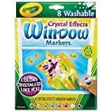 Crayola Window Markers with Crystal Effects (Markers with Crystal Effects x Washable Window Markers)