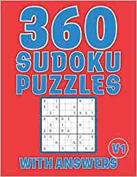 Sudoku Puzzles Book for Adults: 360 Easy to Hard Sudoku Puzzles to Refresh Your Mind Large Print (04 Sudoku per Page) with Answers, 8.5x11