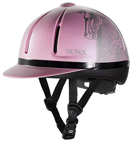 Troxel Legacy Schooling Helmet Small Pink Antiquus