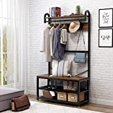 Tribesigns Vintage 4 in 1 Hall Tree with Storage