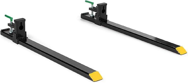 Horquillas Para Palets Hd Para Enganche Capacidad De 4000 Libras Para Pala De Minicargadora Cadena Para Tractor Home Improvement