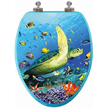Comfort Seats C2b6r9aqch Designer Acrylic Toilet Seat With