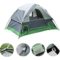 ShinyFunny 2-3 person Camping Tent 3-Season Lightweight...