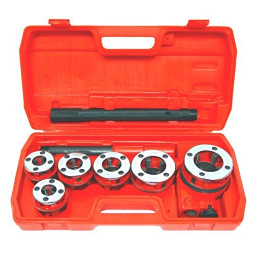 Bestee, New Ratchet Pipe Threader Kit Set Ratcheting w/5 Dies and Case Gas FREE SHIPPING Ratchet Pipe Threading Kit
