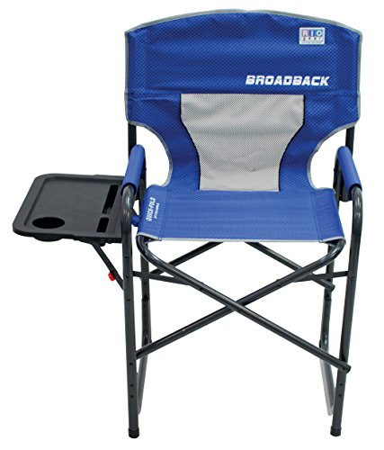RIO Gear Broadback Oversized Director's Chair, Blue by RIO Gear