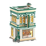 Department 56 Snow Village Jackie's Cards and Gifts Lit House, 7.8 inch