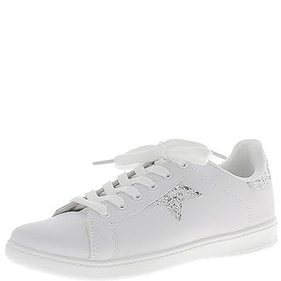 Cuir - Chaussures De Sport Blanches Femmes Sélectionnées avm5v