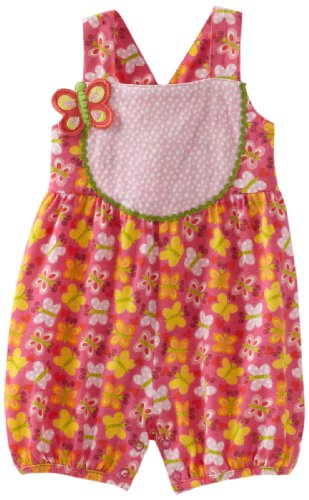 my O baby Baby-Girls Newborn Printed Romper Dress