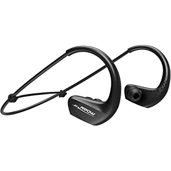 Mpow A6 Bluetooth Headphones V4.1, IPX6 Waterproof Sports Headphones w/Mic, CVC6.0 Noise Cancelling Wireless Earbuds, Running Headset w/11 Hours Playtime