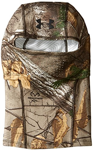 Under Armour Men's ColdGear Infrared Scent Control Hood, Realtree Ap-Xtra (946)/Black, One Size (White Camo Under Armour Hat)