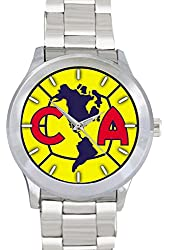 Club America Mexico Football Soccer fclgob137 Men's Wristwatches Stainless Steel